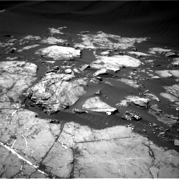 Nasa's Mars rover Curiosity acquired this image using its Right Navigation Camera on Sol 1216, at drive 674, site number 52