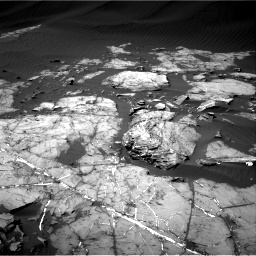 Nasa's Mars rover Curiosity acquired this image using its Right Navigation Camera on Sol 1216, at drive 680, site number 52
