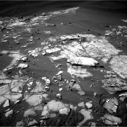 Nasa's Mars rover Curiosity acquired this image using its Right Navigation Camera on Sol 1216, at drive 704, site number 52