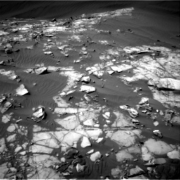 Nasa's Mars rover Curiosity acquired this image using its Right Navigation Camera on Sol 1216, at drive 710, site number 52