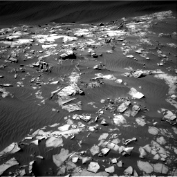 Nasa's Mars rover Curiosity acquired this image using its Right Navigation Camera on Sol 1216, at drive 722, site number 52