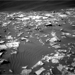 Nasa's Mars rover Curiosity acquired this image using its Right Navigation Camera on Sol 1216, at drive 728, site number 52