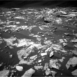 Nasa's Mars rover Curiosity acquired this image using its Right Navigation Camera on Sol 1216, at drive 746, site number 52