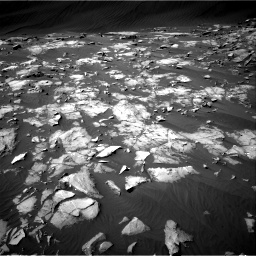 Nasa's Mars rover Curiosity acquired this image using its Right Navigation Camera on Sol 1216, at drive 758, site number 52