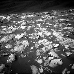 Nasa's Mars rover Curiosity acquired this image using its Right Navigation Camera on Sol 1216, at drive 764, site number 52