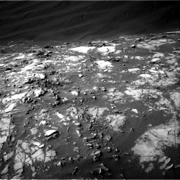 Nasa's Mars rover Curiosity acquired this image using its Right Navigation Camera on Sol 1216, at drive 782, site number 52