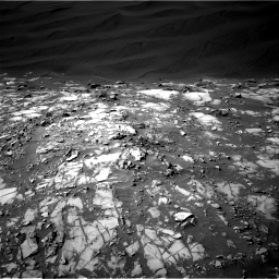 Nasa's Mars rover Curiosity acquired this image using its Right Navigation Camera on Sol 1216, at drive 788, site number 52