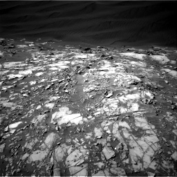 Nasa's Mars rover Curiosity acquired this image using its Right Navigation Camera on Sol 1216, at drive 794, site number 52