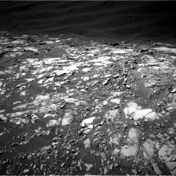 Nasa's Mars rover Curiosity acquired this image using its Right Navigation Camera on Sol 1216, at drive 800, site number 52