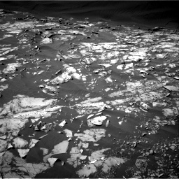 Nasa's Mars rover Curiosity acquired this image using its Right Navigation Camera on Sol 1216, at drive 812, site number 52