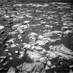 Nasa's Mars rover Curiosity acquired this image using its Right Navigation Camera on Sol 1216, at drive 824, site number 52