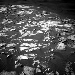 Nasa's Mars rover Curiosity acquired this image using its Right Navigation Camera on Sol 1216, at drive 854, site number 52