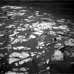 Nasa's Mars rover Curiosity acquired this image using its Right Navigation Camera on Sol 1216, at drive 860, site number 52