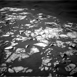Nasa's Mars rover Curiosity acquired this image using its Right Navigation Camera on Sol 1216, at drive 866, site number 52