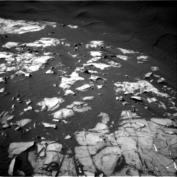 Nasa's Mars rover Curiosity acquired this image using its Right Navigation Camera on Sol 1216, at drive 884, site number 52