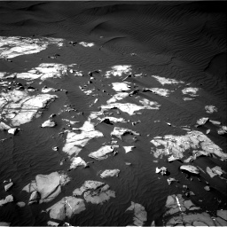 Nasa's Mars rover Curiosity acquired this image using its Right Navigation Camera on Sol 1216, at drive 890, site number 52