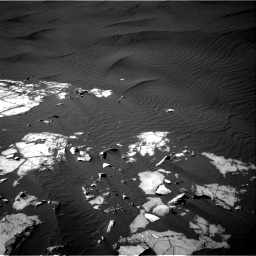 Nasa's Mars rover Curiosity acquired this image using its Right Navigation Camera on Sol 1216, at drive 902, site number 52