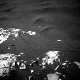 Nasa's Mars rover Curiosity acquired this image using its Right Navigation Camera on Sol 1216, at drive 908, site number 52