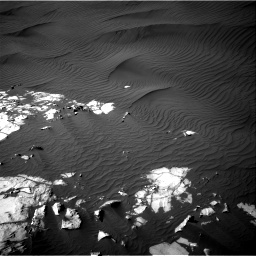 Nasa's Mars rover Curiosity acquired this image using its Right Navigation Camera on Sol 1216, at drive 914, site number 52