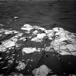 Nasa's Mars rover Curiosity acquired this image using its Right Navigation Camera on Sol 1216, at drive 932, site number 52