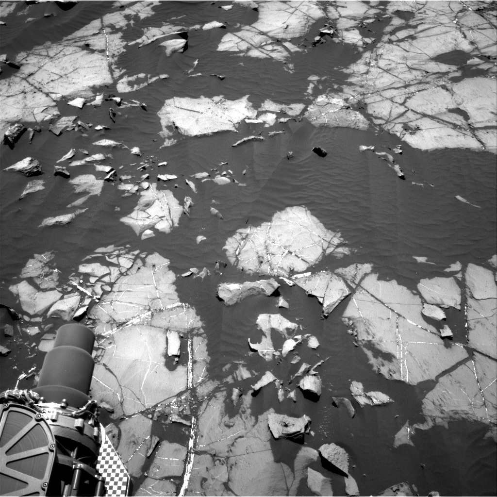 Nasa's Mars rover Curiosity acquired this image using its Right Navigation Camera on Sol 1219, at drive 936, site number 52