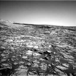 Nasa's Mars rover Curiosity acquired this image using its Left Navigation Camera on Sol 1221, at drive 966, site number 52