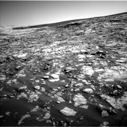 Nasa's Mars rover Curiosity acquired this image using its Left Navigation Camera on Sol 1221, at drive 990, site number 52