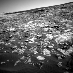 Nasa's Mars rover Curiosity acquired this image using its Left Navigation Camera on Sol 1221, at drive 996, site number 52