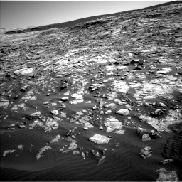 Nasa's Mars rover Curiosity acquired this image using its Left Navigation Camera on Sol 1221, at drive 1002, site number 52