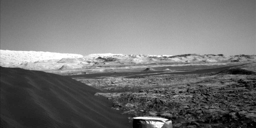 Nasa's Mars rover Curiosity acquired this image using its Left Navigation Camera on Sol 1221, at drive 1162, site number 52