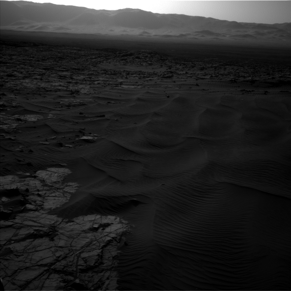 NASA's Mars rover Curiosity acquired this image using its Left Navigation Camera (Navcams) on Sol 1221