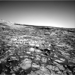 Nasa's Mars rover Curiosity acquired this image using its Right Navigation Camera on Sol 1221, at drive 972, site number 52