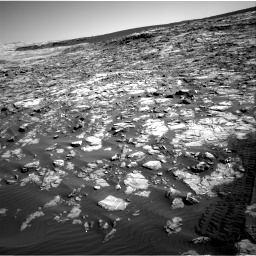 Nasa's Mars rover Curiosity acquired this image using its Right Navigation Camera on Sol 1221, at drive 996, site number 52
