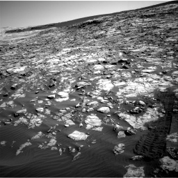 Nasa's Mars rover Curiosity acquired this image using its Right Navigation Camera on Sol 1221, at drive 1002, site number 52