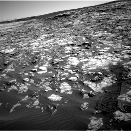 Nasa's Mars rover Curiosity acquired this image using its Right Navigation Camera on Sol 1221, at drive 1008, site number 52