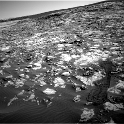 Nasa's Mars rover Curiosity acquired this image using its Right Navigation Camera on Sol 1221, at drive 1020, site number 52