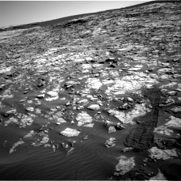 Nasa's Mars rover Curiosity acquired this image using its Right Navigation Camera on Sol 1221, at drive 1032, site number 52