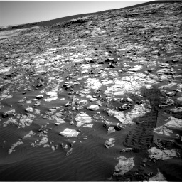 Nasa's Mars rover Curiosity acquired this image using its Right Navigation Camera on Sol 1221, at drive 1038, site number 52