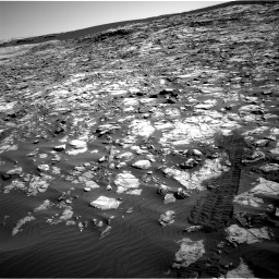 Nasa's Mars rover Curiosity acquired this image using its Right Navigation Camera on Sol 1221, at drive 1044, site number 52