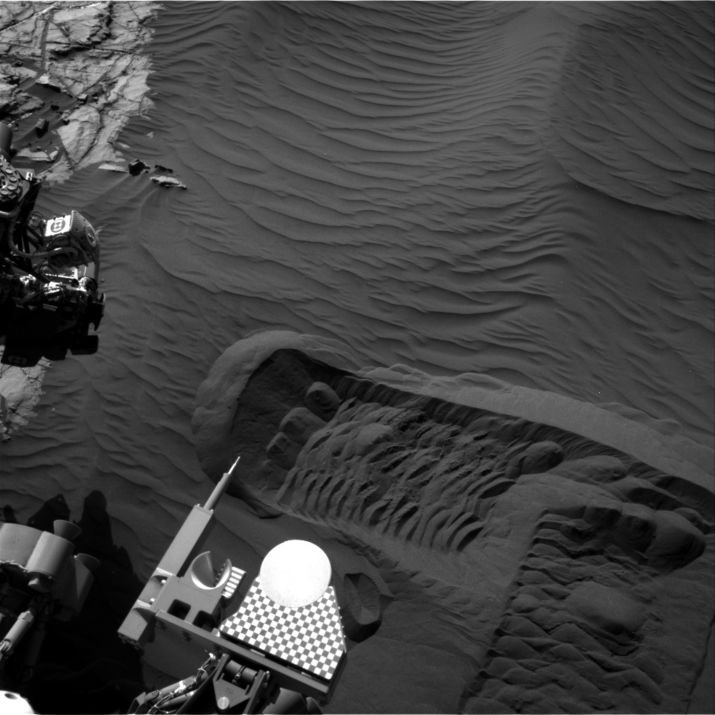 Nasa's Mars rover Curiosity acquired this image using its Right Navigation Camera on Sol 1224, at drive 1162, site number 52