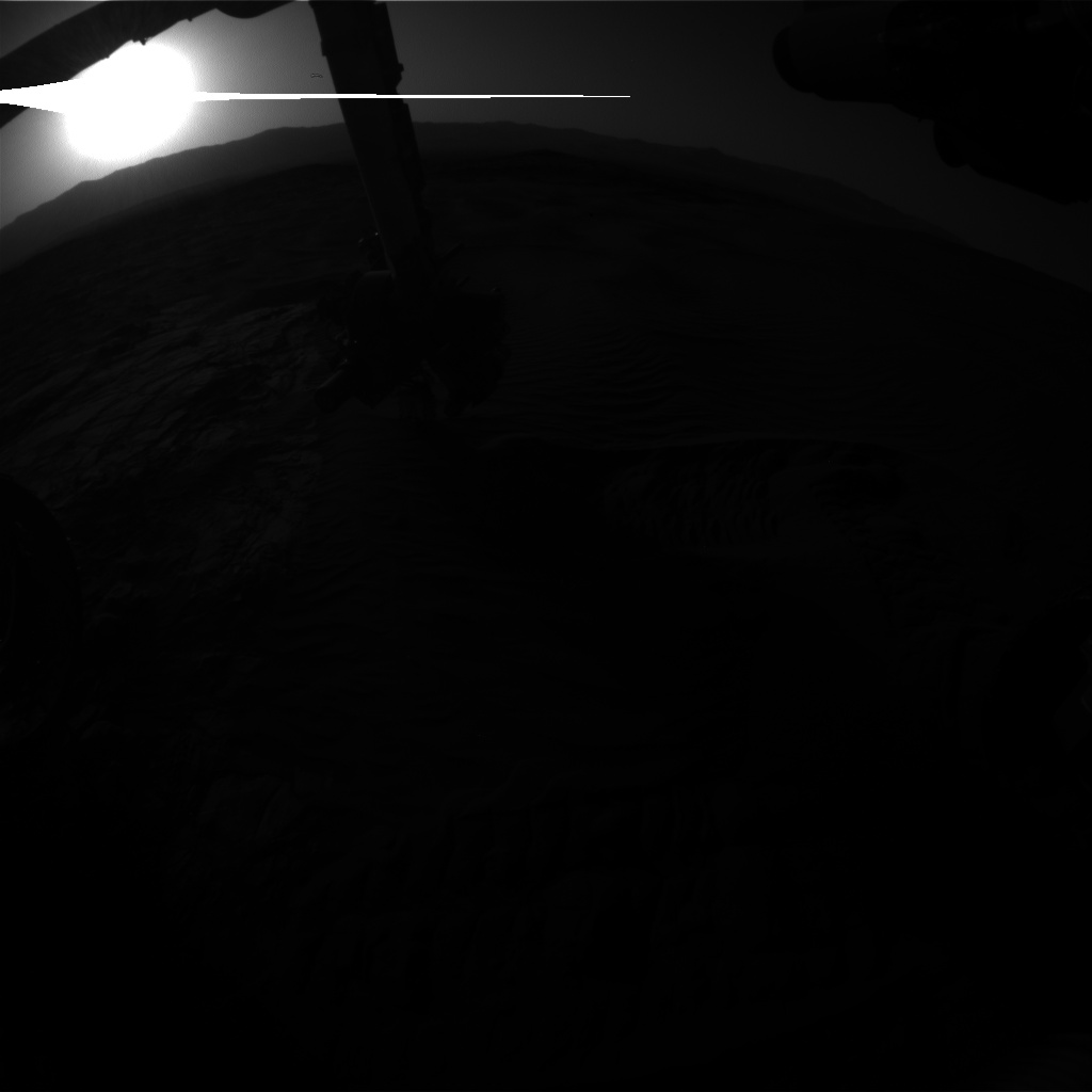 Nasa's Mars rover Curiosity acquired this image using its Front Hazard Avoidance Camera (Front Hazcam) on Sol 1226, at drive 1162, site number 52