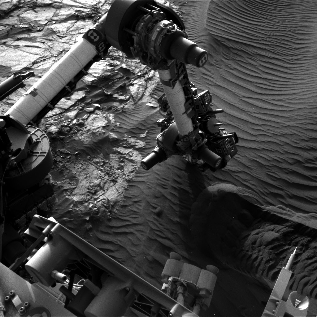 NASA's Mars rover Curiosity acquired this image using its Left Navigation Camera (Navcams) on Sol 1226