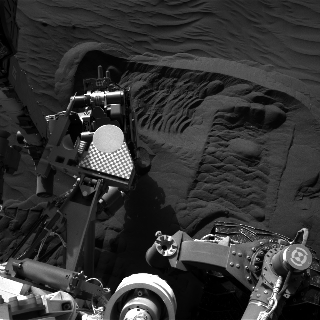 Nasa's Mars rover Curiosity acquired this image using its Right Navigation Camera on Sol 1226, at drive 1162, site number 52