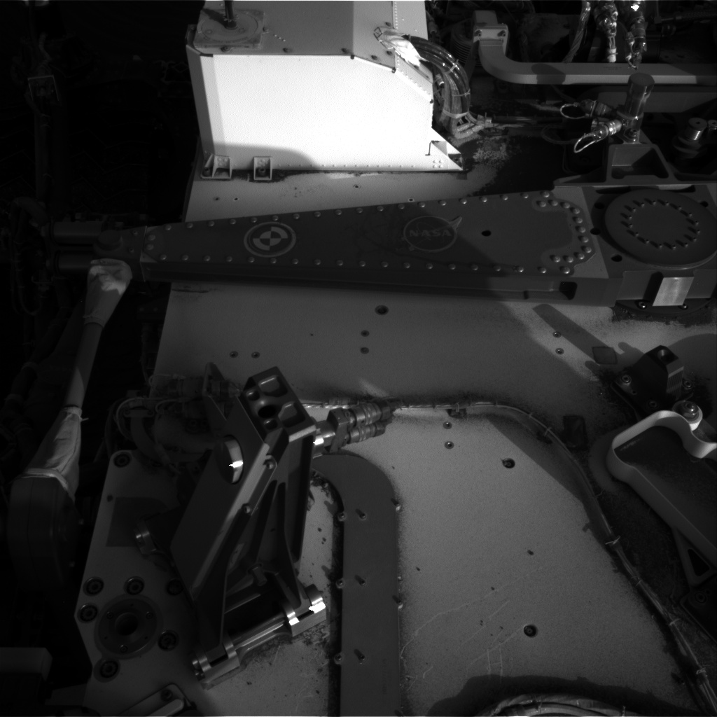 Nasa's Mars rover Curiosity acquired this image using its Right Navigation Camera on Sol 1227, at drive 1162, site number 52