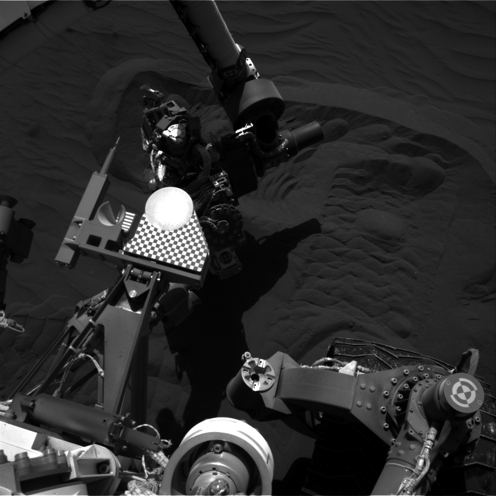Nasa's Mars rover Curiosity acquired this image using its Right Navigation Camera on Sol 1228, at drive 1162, site number 52