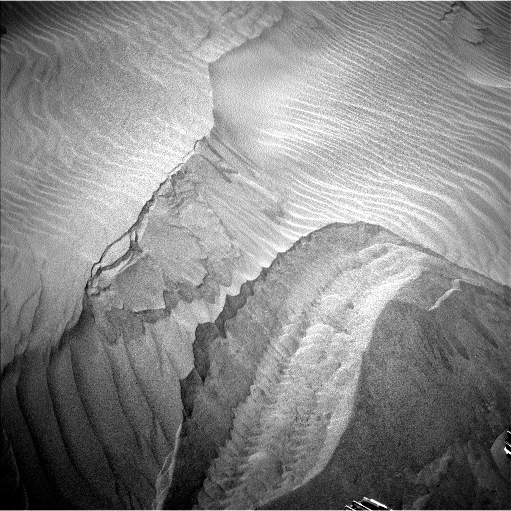 NASA's Mars rover Curiosity acquired this image using its Left Navigation Camera (Navcams) on Sol 1229