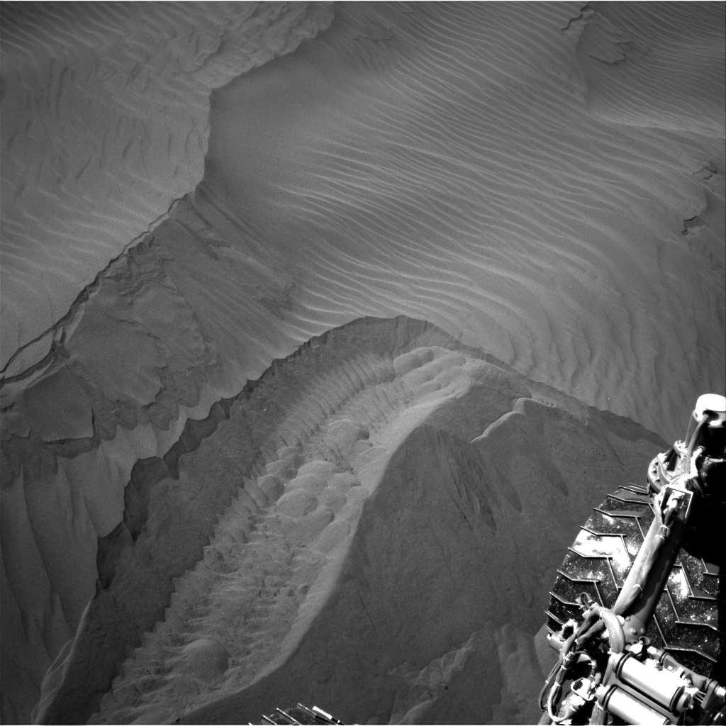 Nasa's Mars rover Curiosity acquired this image using its Right Navigation Camera on Sol 1237, at drive 1162, site number 52
