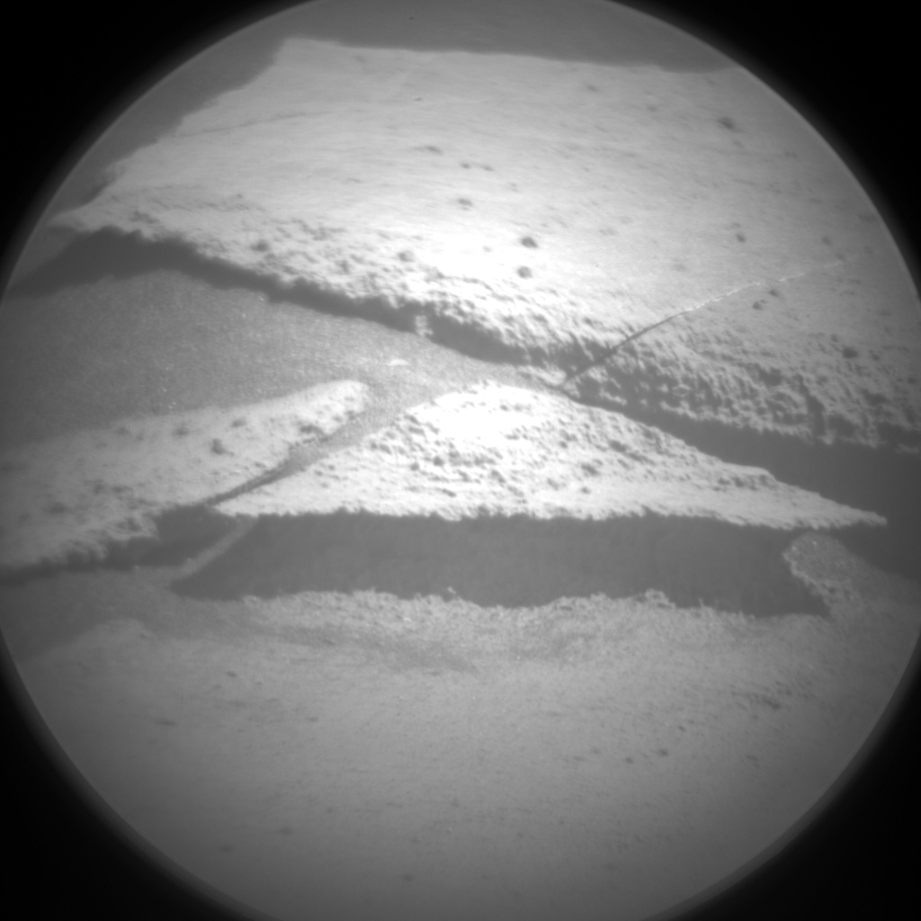 Nasa's Mars rover Curiosity acquired this image using its Chemistry & Camera (ChemCam) on Sol 1238, at drive 1162, site number 52