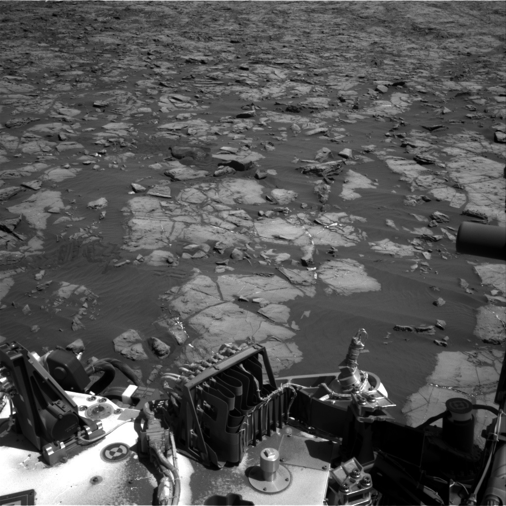 NASA's Mars rover Curiosity acquired this image using its Right Navigation Cameras (Navcams) on Sol 1238