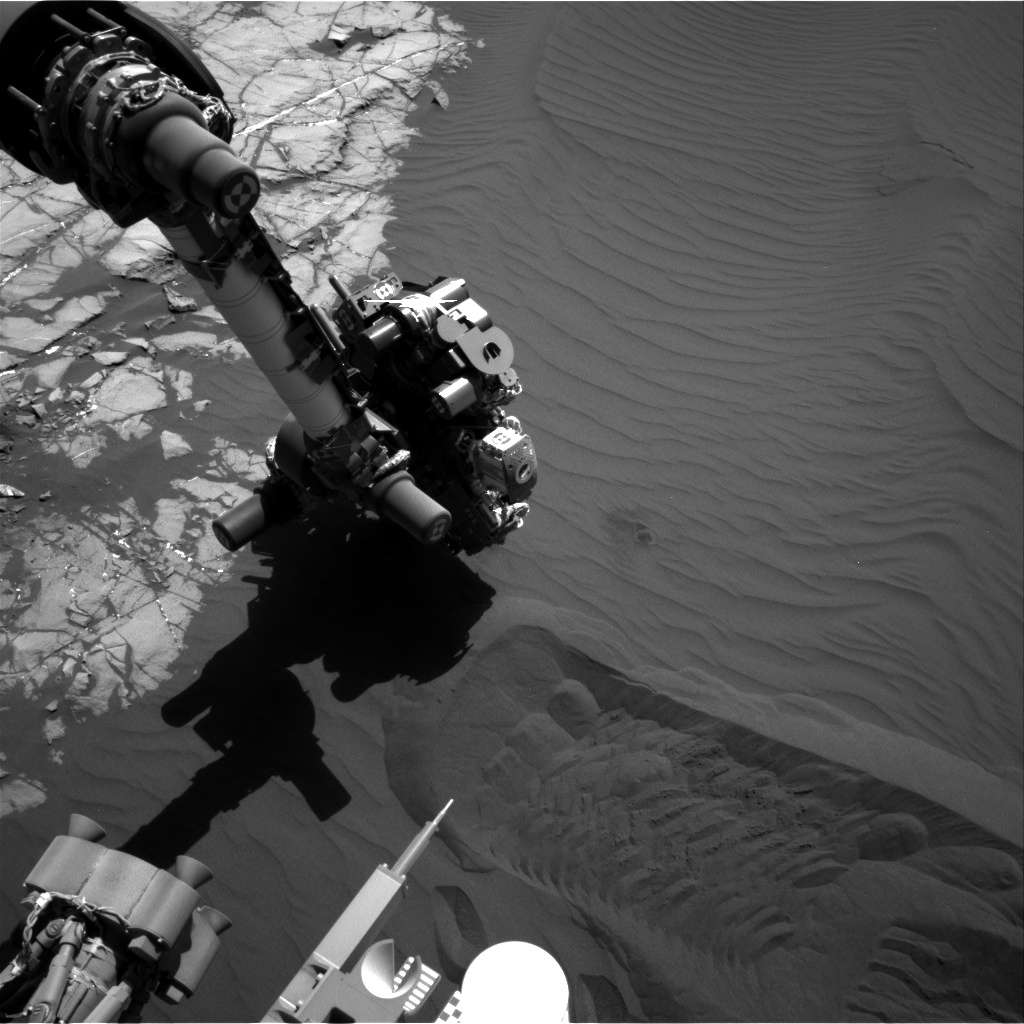 Nasa's Mars rover Curiosity acquired this image using its Right Navigation Camera on Sol 1241, at drive 1162, site number 52